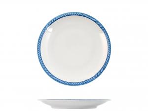 Piatto In Porcellana Lido 0775 Frutta Cm20