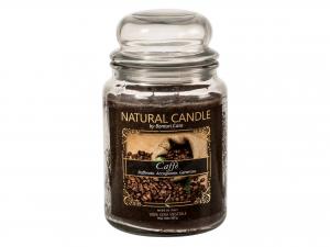 Nature Candle Candela Profumata Caffe', 100% Cera Vegetale