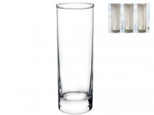 Confezione 3 Bicchieri In Vetro Cortina L.drink30,5