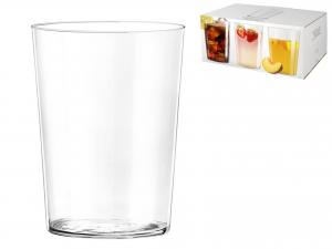 Bicchiere Starck In Vetro 500 Ml, Trasparente