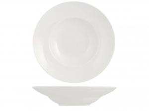 Piatto In Porcellana Pastabowl Bianco Cm 30