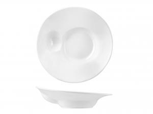 Piatto In Porcellana, ø 28 Cm, Bianco