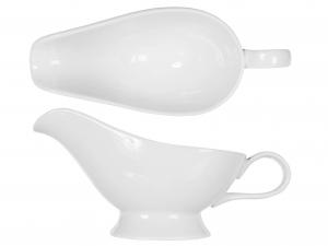 Salsiera In Porcellana, 250 Ml, Bianco