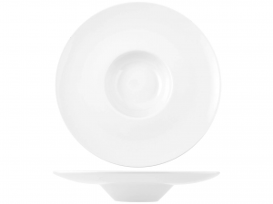 Pastabowl In Porcellana Bianco Cm33       -2807/r