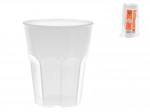 6 Bicchieri Movida Poliprop 300 Bianco
