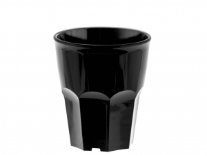 6 Bicchieri Movida Poliprop 300 Nero