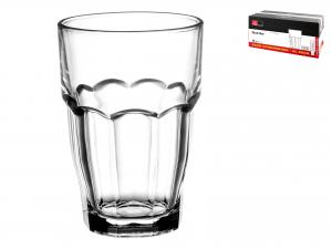 Scatola 36 Bicchieri In Vetro Rockbar Cl37