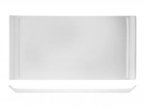 Vassoio Rettangolare In Porcellana Bianco Cm28x15