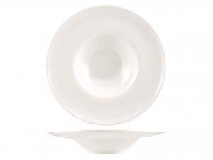 Piatto Pasta Porcellana Bianco Cm28      A2803