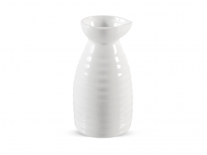 Bottiglia In Porcellana Bianca Cm13        -21855
