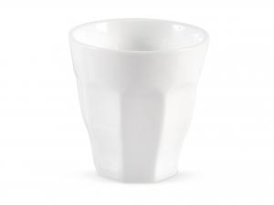 Bicchiere In Porcellana Bianco Cc250       -19551