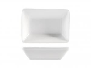 Piattino In Porcellana Bianco Rettangolare Cm7x10  -16850