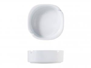 Posacenere In Porcellana Bianco Tondo 11xh3,5-5890