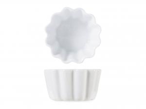 Stampino In Porcellana Bianco Cm6           -7519