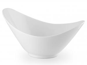 H&h Ciotola Porcellana Ovale Cm 31 Arredo Tavola