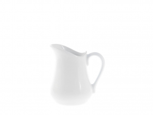 Lattiera In Porcellana Bianca Cc 110