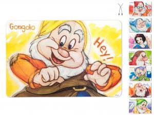 Tovaglietta Polipropilene Nani Sketch Colore *r