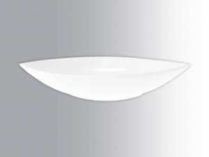 Coppetta In Porcellana Bianco Barca20x10x3 Hb2186