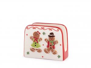 H&h Gingerbread Porta Tovaglioli, Ceramica