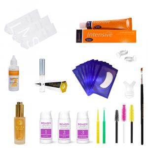 Kit completo para laminación de pestañas y cejas, BeModi