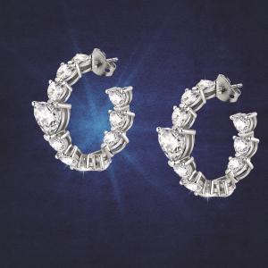 Chiara Ferragni Orecchini Diamond Heart - Cerchio Cuore