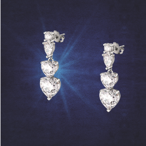 Chiara Ferragni Orecchini Diamond Heart - Trilogy