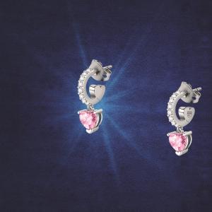 Chiara Ferragni Orecchini Diamond Heart - Cerchio con Charm