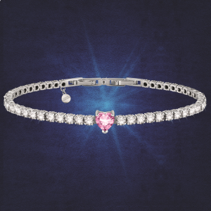 Chiara Ferragni Bracciale Diamond Heart - Pink Heart