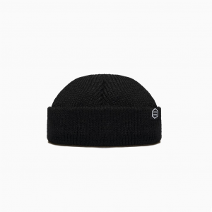 Cappello Dolly Noire Beanie Label