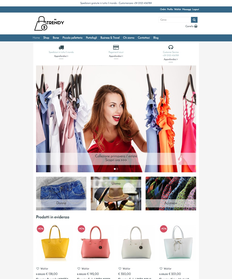 Storeden Theme - Be Trendy
