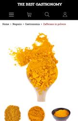 Storeden theme - mobile preview - Classy Bio Gastronomy