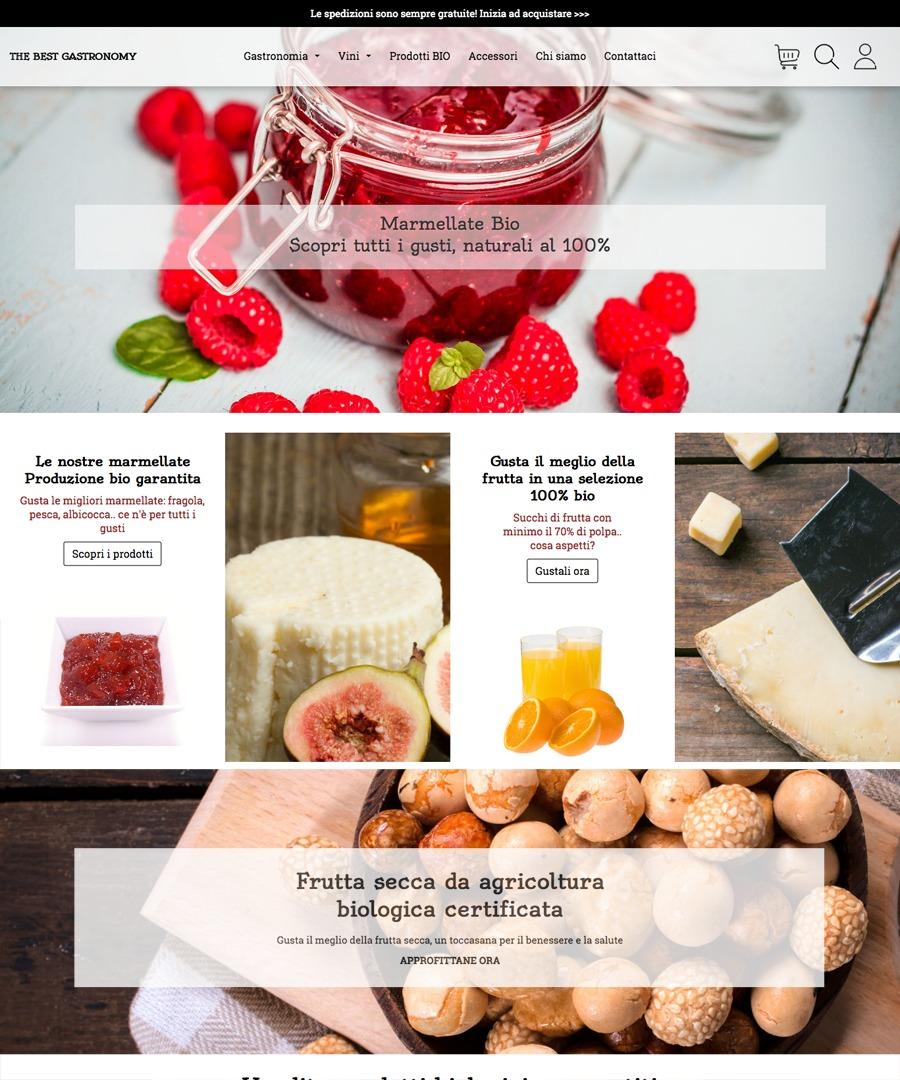 Storeden Theme - Classy Bio Gastronomy