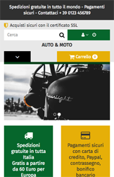 Storeden theme - mobile preview - Engine Lovers