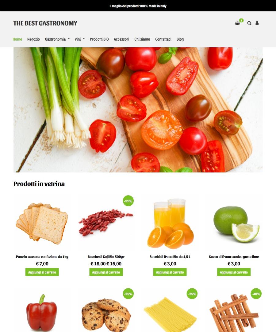 Storeden Theme - Essential Theme - Food