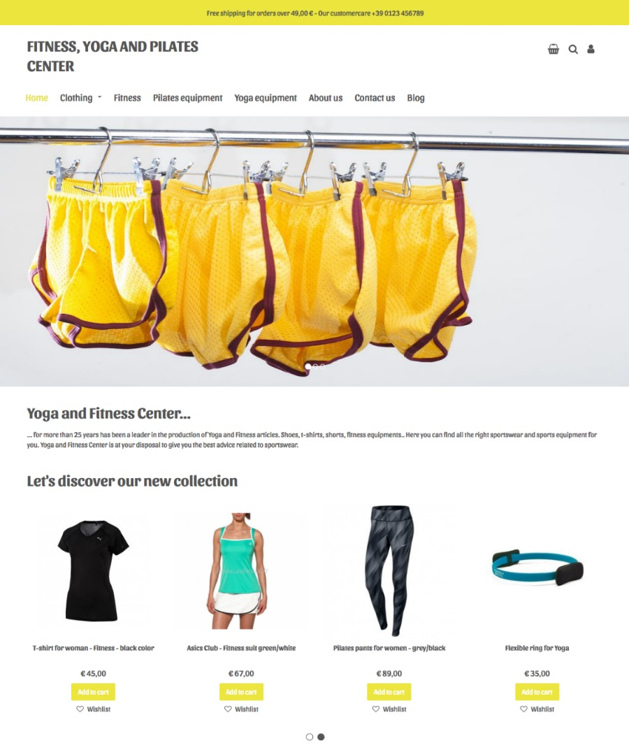 Storeden Theme - Essential Theme - Sport