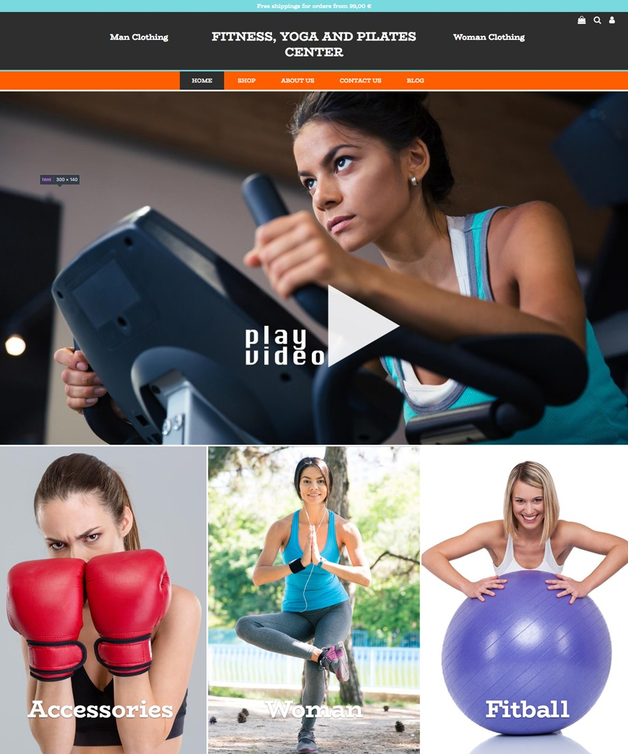 Storeden Theme - Fitness Addicted