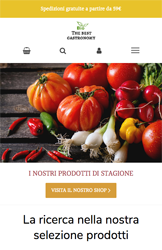 Storeden theme - mobile preview - Foodie