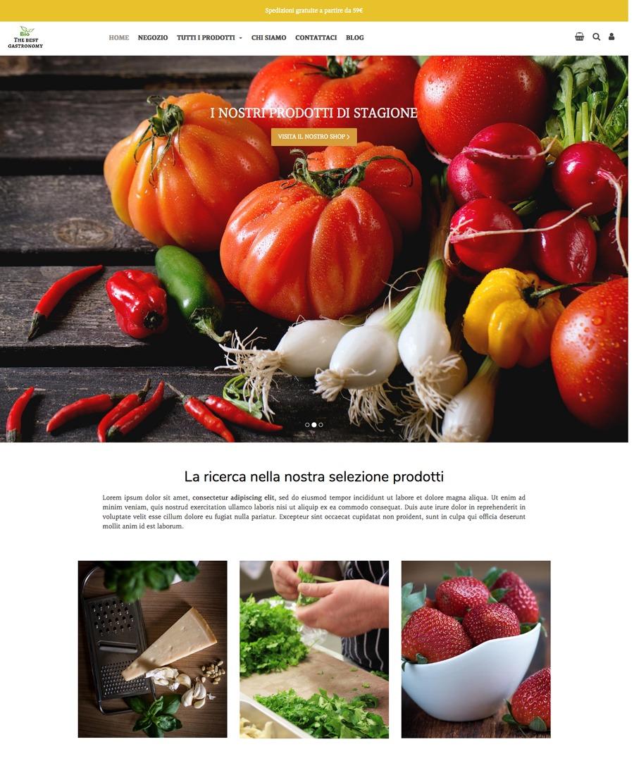 Storeden Theme - Foodie