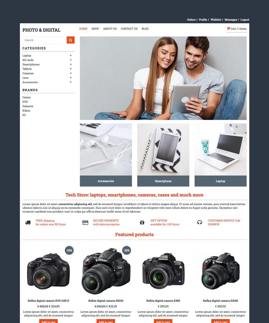 Storeden Theme - Acquisti Hi-Tech