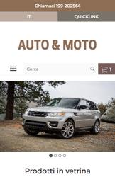 Storeden theme - mobile preview - Moto Fanatic
