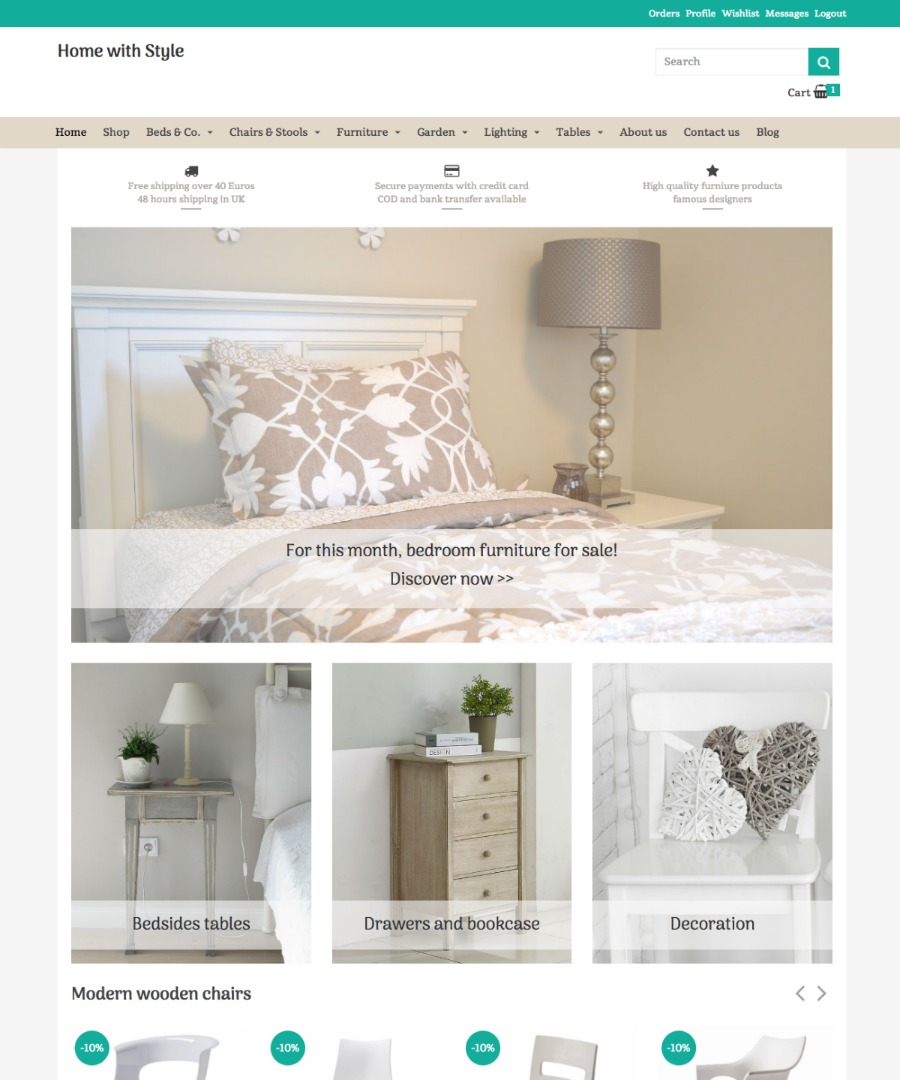 Storeden Theme - Stylish decor