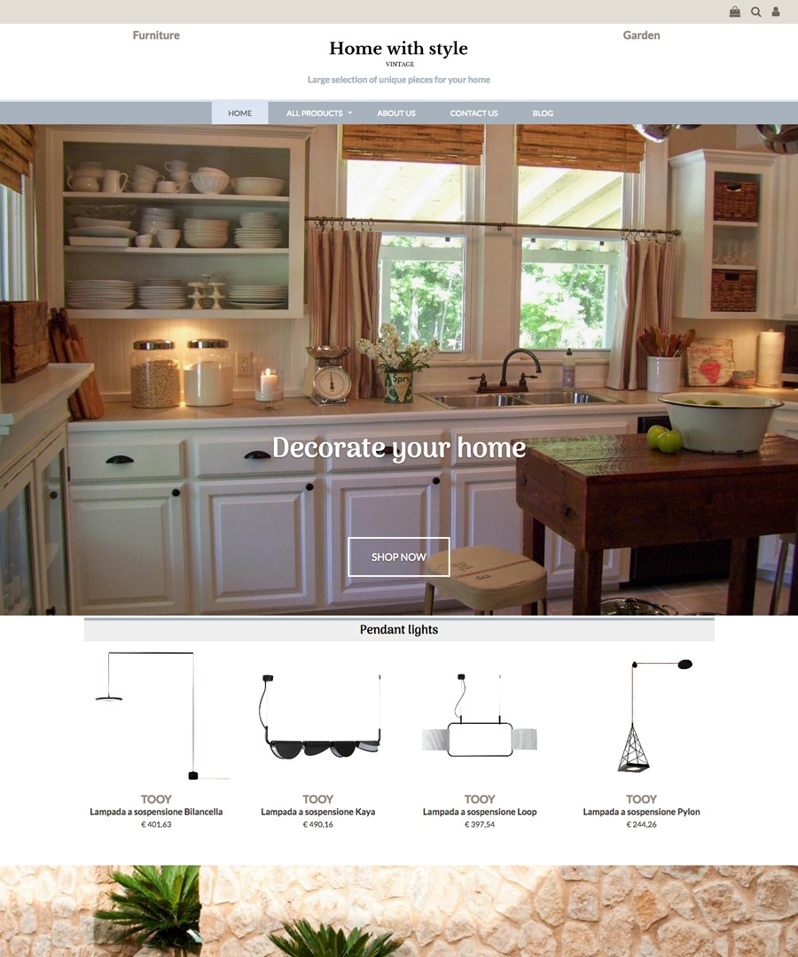Storeden Theme - Vintage Home Style