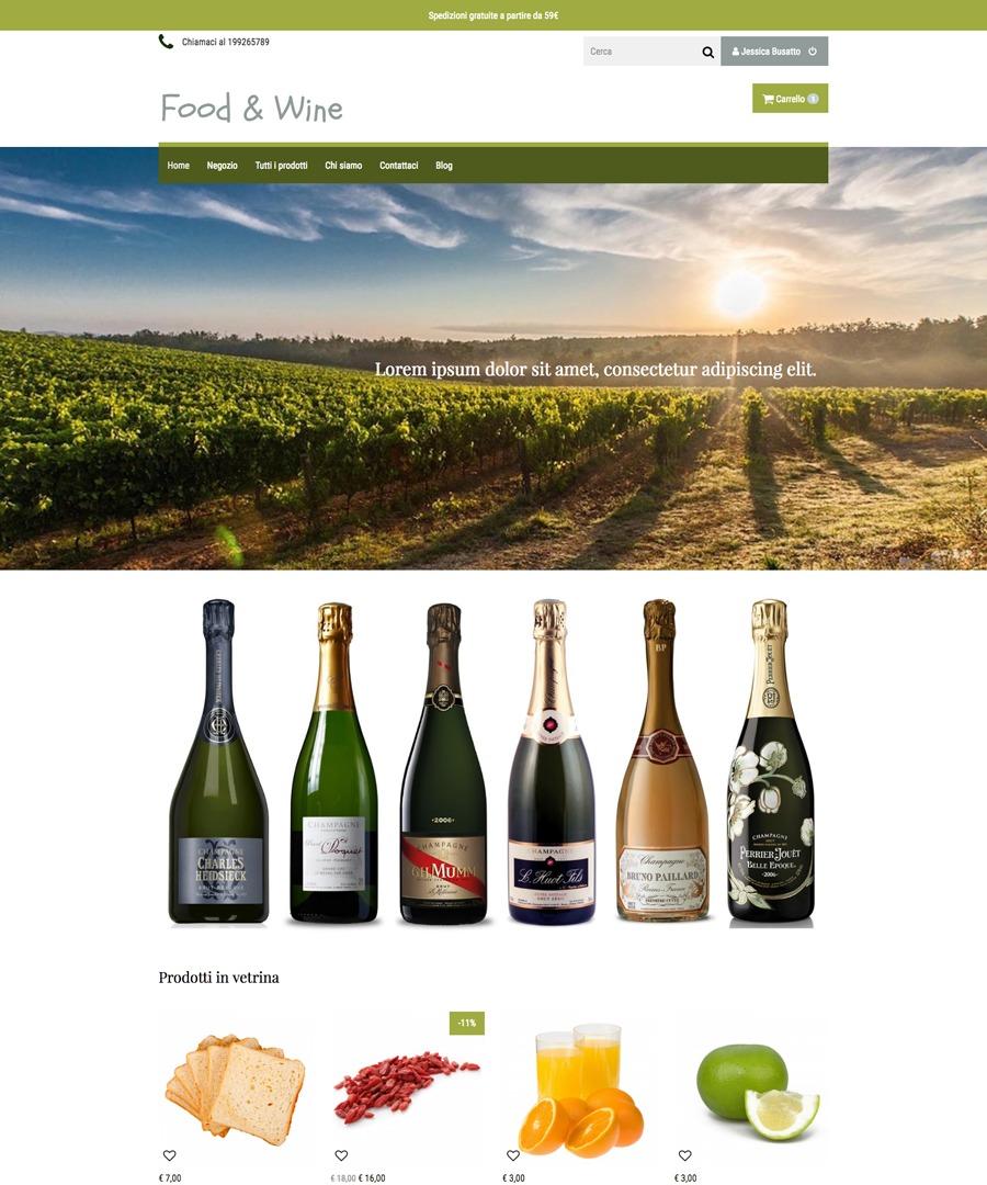 Storeden Theme - Wine Tasting